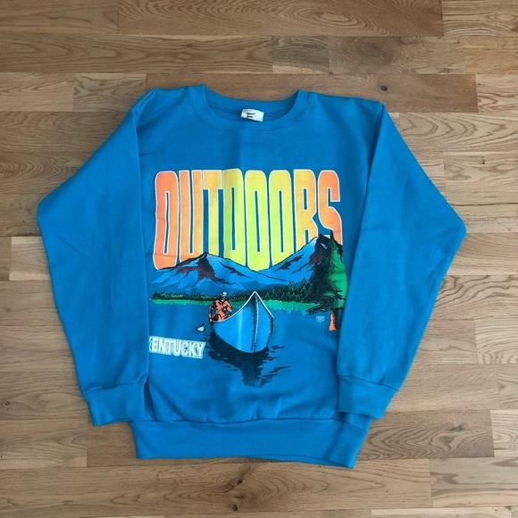 Vintage 90's Kentucky Outdoors Crewneck Sweater